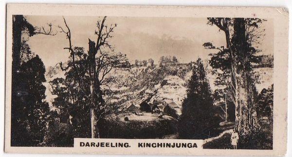 No. 41 Darjeeling - Kinchinjunga and the Snows from Beechwood Park