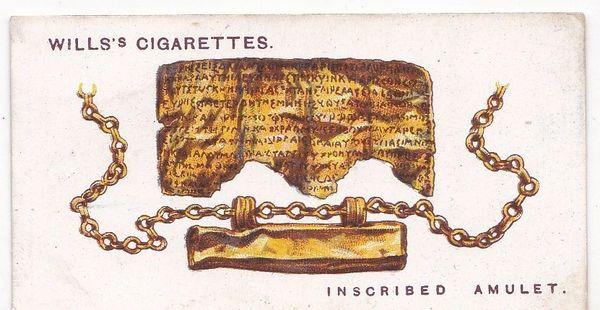 No. 37 Inscribed Amulet