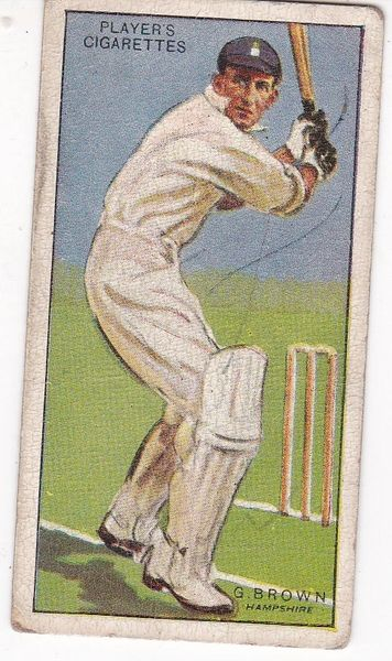 No. 05 - G Brown (Hampshire)