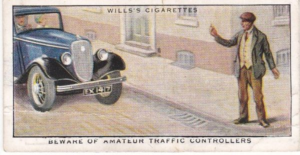 No. 17 Beware of Amateur Traffic Controllers