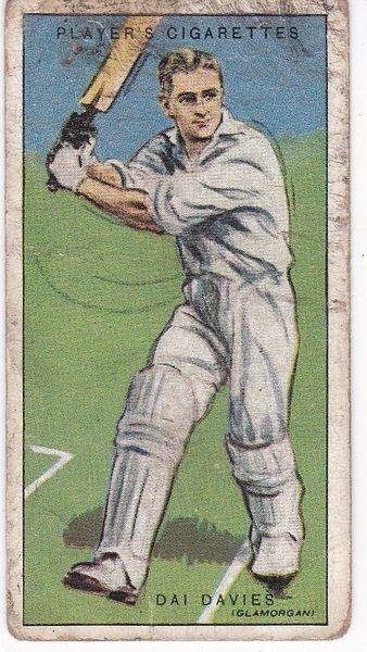No. 09 - Dai Davies (Glamorgan)