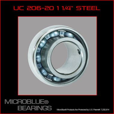 Micro Blue Rear Axle Bearing 1 1/4