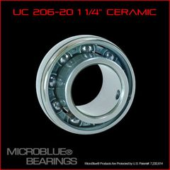 Ceramic Micro Blue Rear Axle Bearing 1 1/4