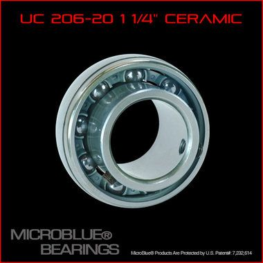 Ceramic Micro Blue Rear Axle Bearing 1 1/4