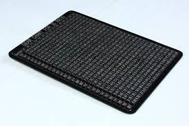 Gear Chart Lazer Etched Aluminium