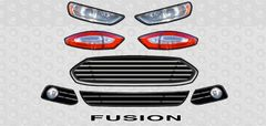 2013 FORD FUSION COMPLETE LIGHT KIT