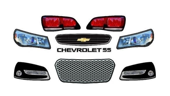 2013 CHEVY SS MINICUP LIGHT KIT