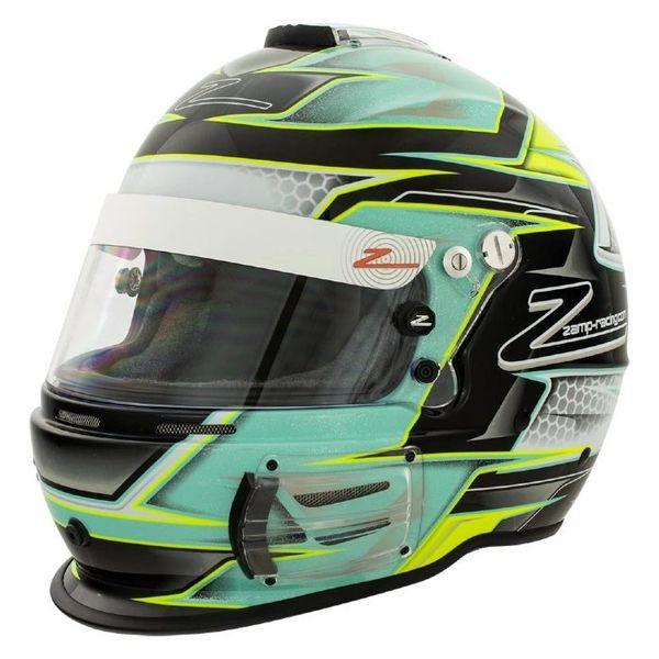 Zamp RZ-42 Helmet Green / Silver