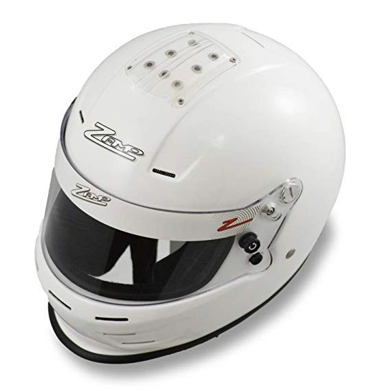 Zamp RZ-34Y Youth Helmet White