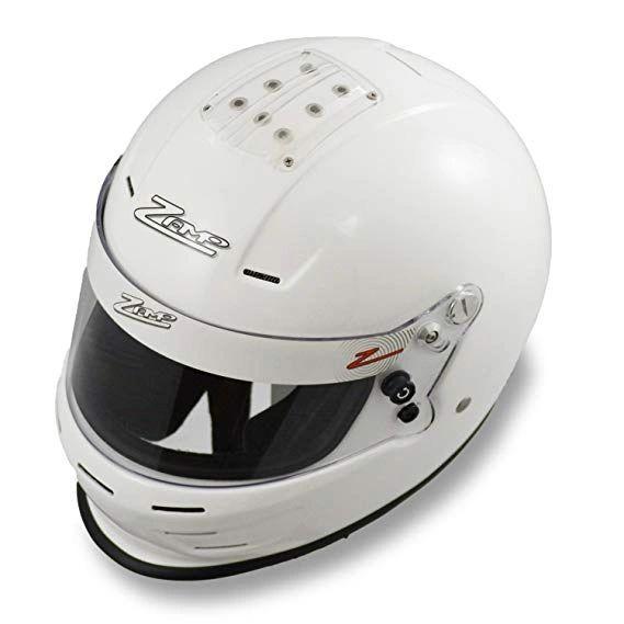 Zamp RZ-34Y Youth Helmet White