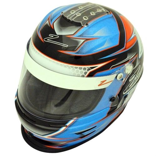 Zamp RZ-42Y Youth Helmet Blue/Orange