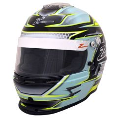 Zamp RZ-42Y Youth Helmet Green/Silver