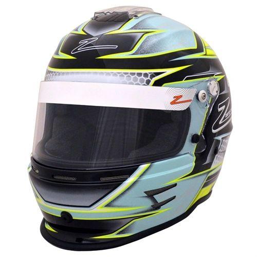 Zamp RZ-42Y Youth Helmet Green/Silver
