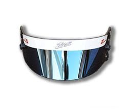 Zamp Z-20 Auto Series Face Shield Silver Iridium