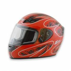 Zamp FS-8 Helmet Red and Black
