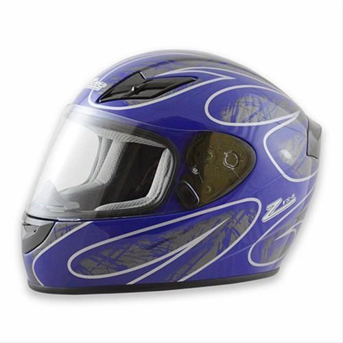 Zamp FS-8 Helmet Blue and Silver