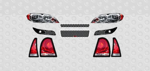 2007 IMPALA MINICUP DECAL KIT