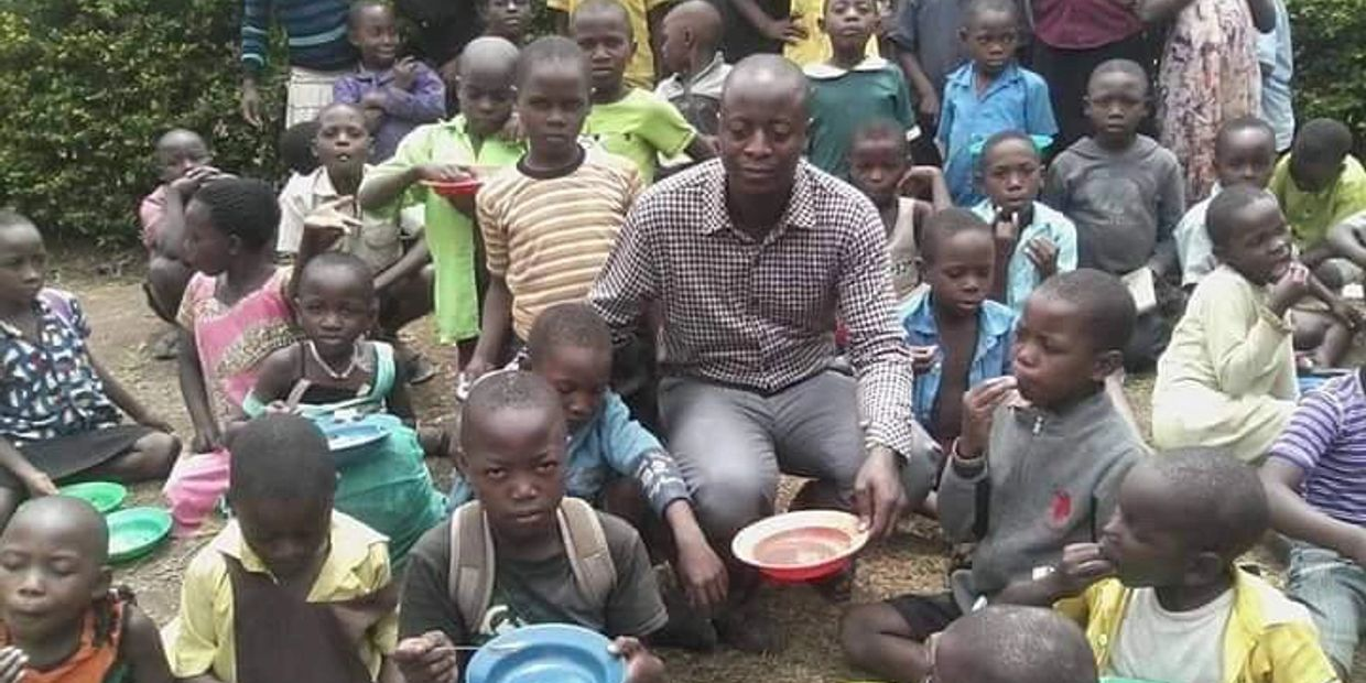 Missionary COGIC Outreach | Feeding Orphans in Uganda