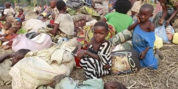 These children have no shelter in Uganda
