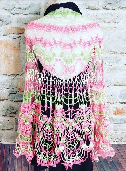 AKA Lace Shawl Kimono