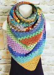 Tweed Blanket Scarf