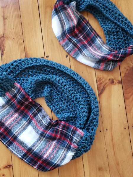 Mommy and Me Scarf Set