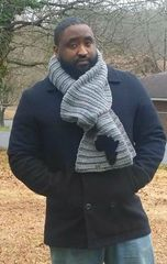 Mens Textured Africa Scarf