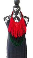 Pan African Fringe Necklace