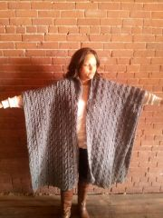 Chunky Cable Coat Made to Order