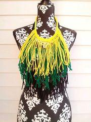 Jamaican Fringe Necklace