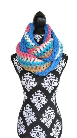 Ice Cream Infinity Scarf
