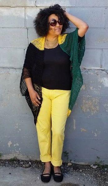 Jamaican Kimono