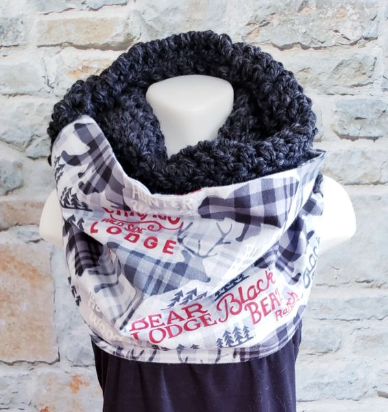 Black Bear Lodge Scarf