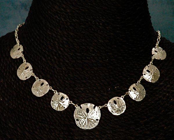 Gold Sanddollar Necklace