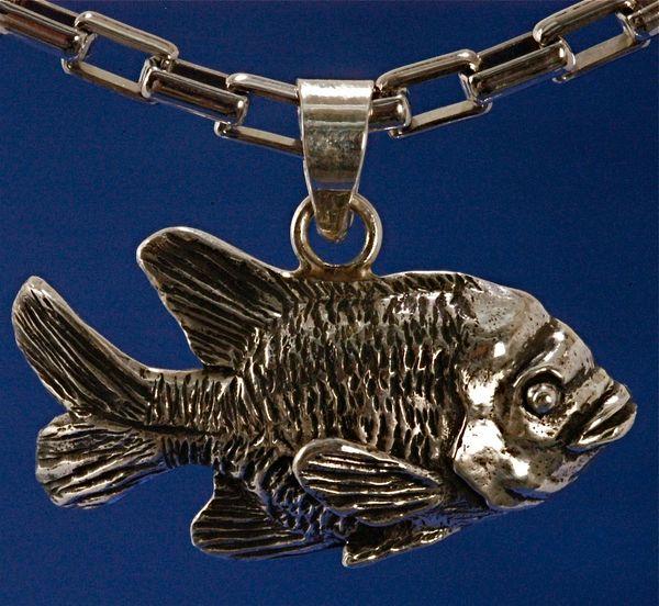 Garibaldi Pendant - Small - Sterling Silver