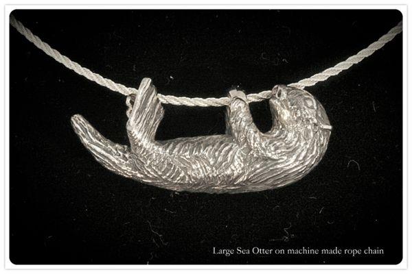 Sea Otter Pendant