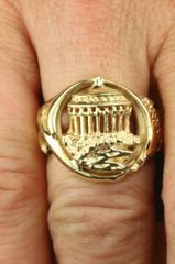 Casino Ring 14K Gold Collection