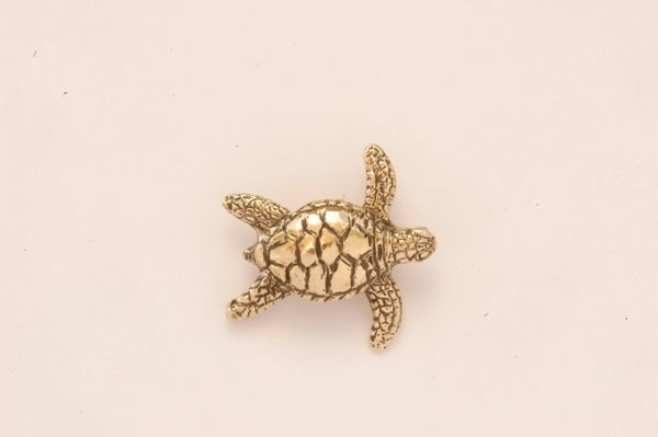 Sea Turtle in 14K Gold - Small
