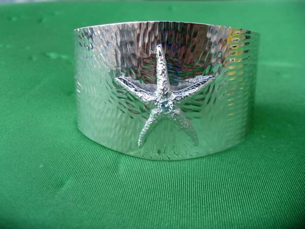 Starfish cuff in Sterling Silver