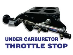 Under Carb Throttle Stop