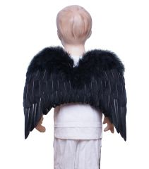 Angel of Hope, M2, Black feather wings