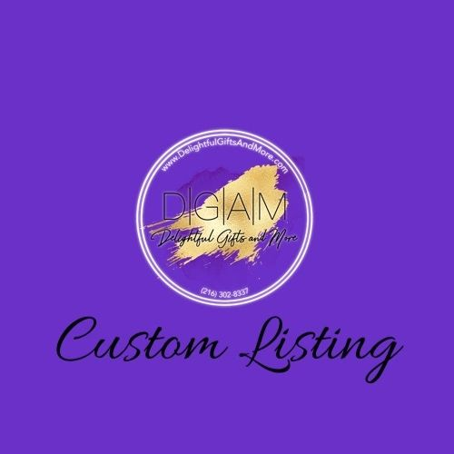 Custom Listing for Tameekia Bonner