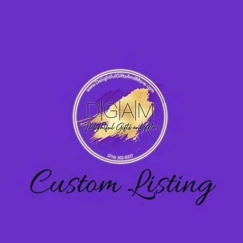 Custom Listing for Autumn Sylvia