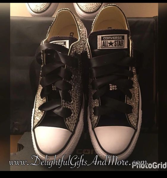bra ut x fånga bäst billig WOMEN'S BLING CONVERSE ALL STARS | Delightful Gifts And More