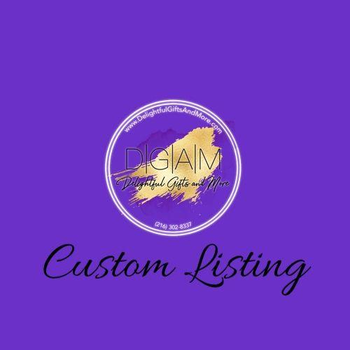 Custom Listing for Katherine Barrett