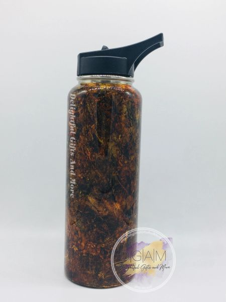 Alcohol Ink Camo Tumbler