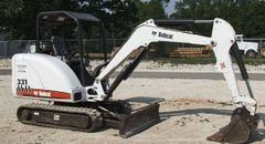 Excavator, Mini Closed Cab