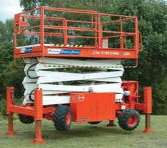 Lift, Scissor (Rough Terrain) 32'