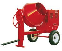 Mixer, Concrete Towable Gas