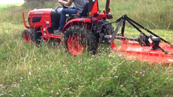 Brush Hog, Hydraulic Attachment